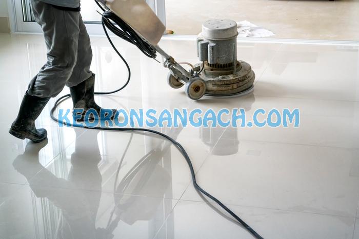 Đánh bóng sàn gạch có cần thiết hay không?